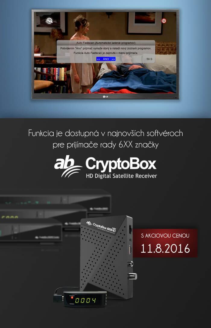 8b180a30a Auto fastscan už aj v Cryptoboxoch! - Cryptobox.sk
