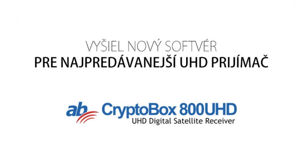 AB Cryptobox 800UHD – oprava rýchlosti prepínania a nový Youtube